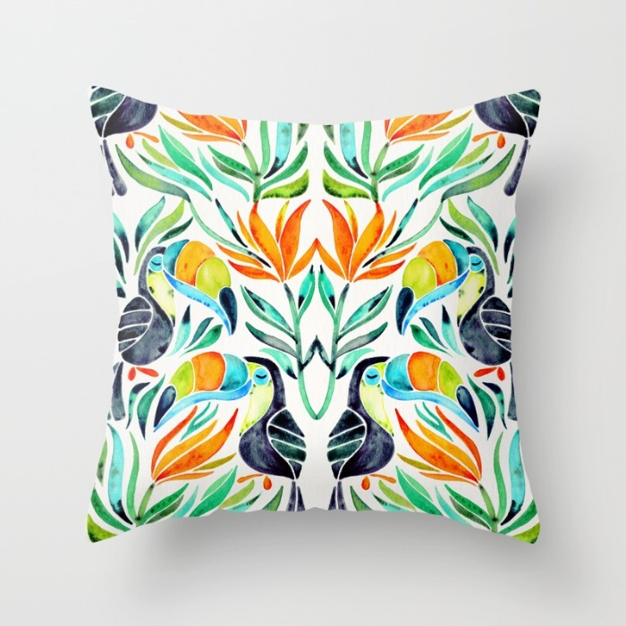 Tropical Toucans   •  Society6