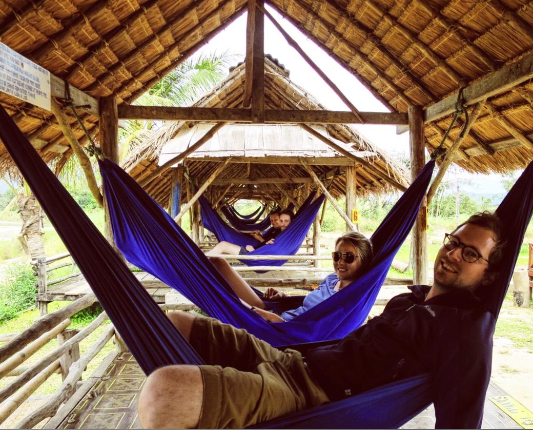 Mid-day hammock break.
