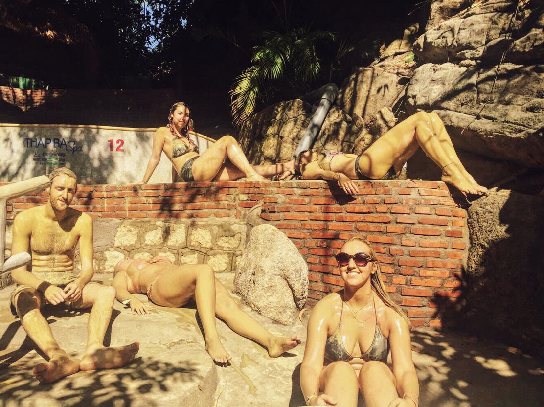 We are sun-bathing beauties.