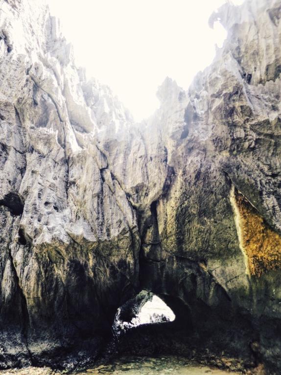 Entrance to the Secret Lagoon.
