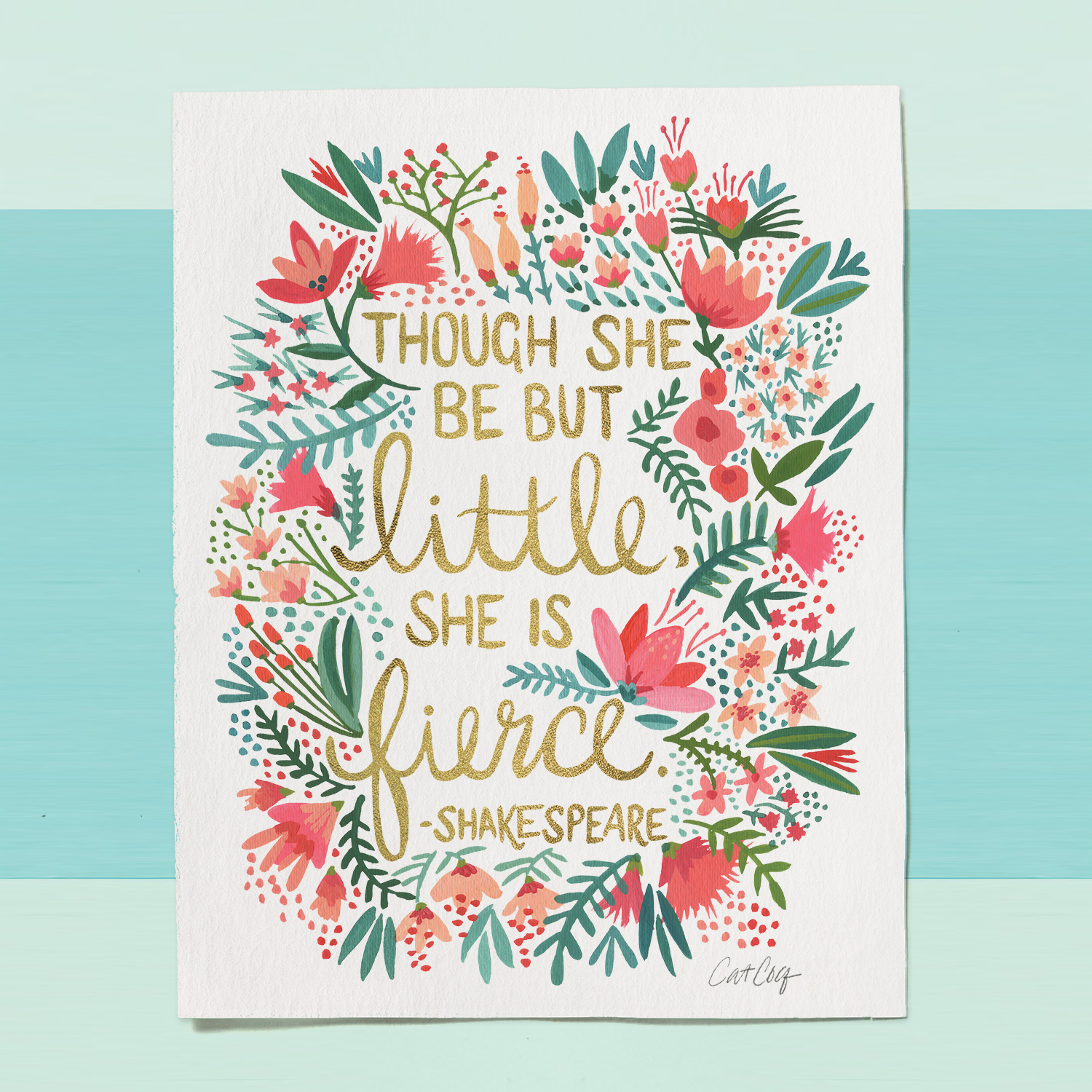 """""""Little & Fierce"""" available  here ."""