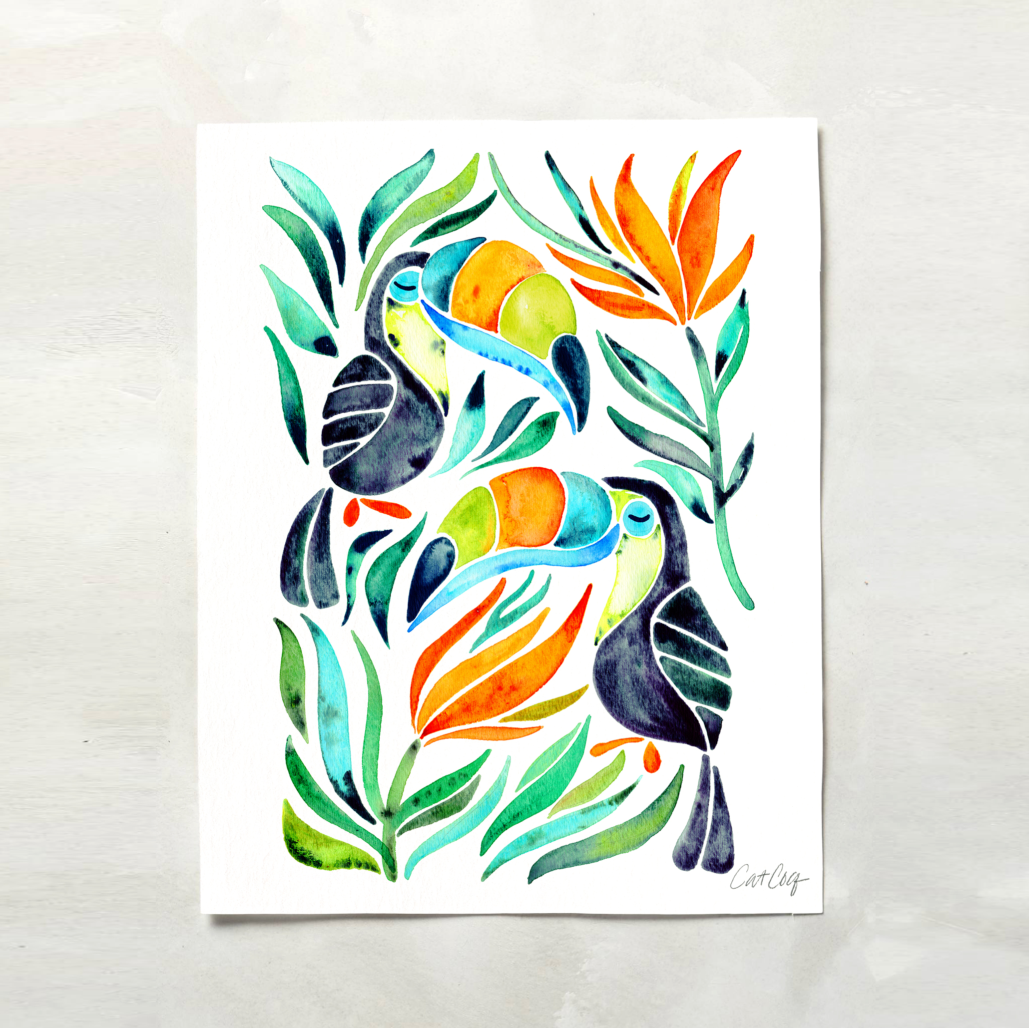 Tropical Toucans available  here .