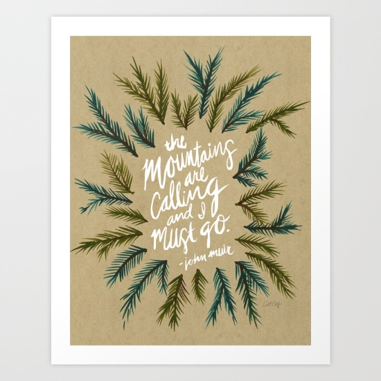 Mountains  •  art print $18–$64