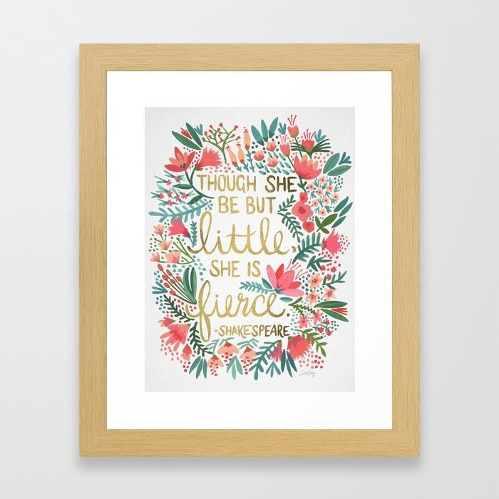 Little & Fierce  •  art print $35–$135
