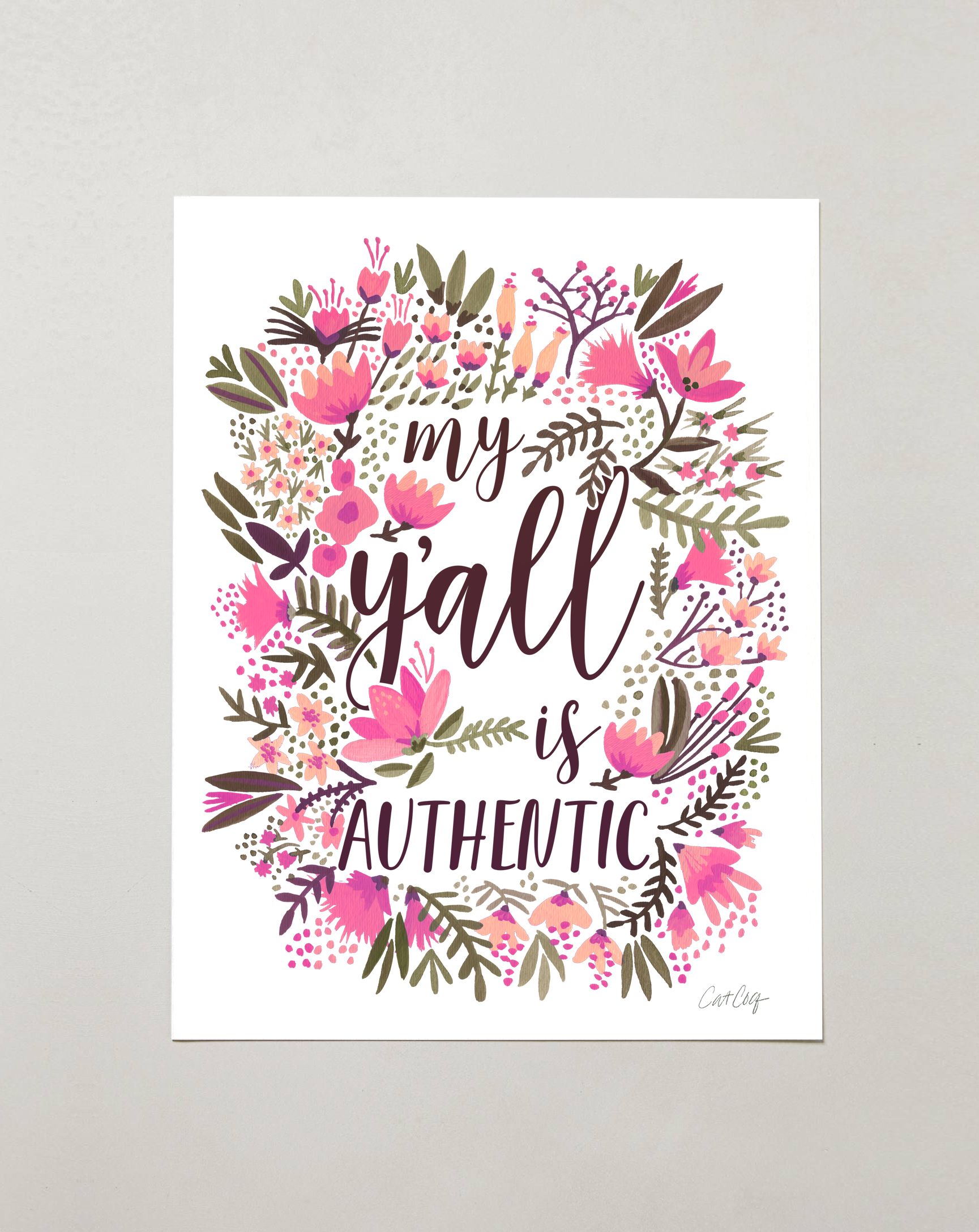 My Ya'll is Authentic – Vintage Palette