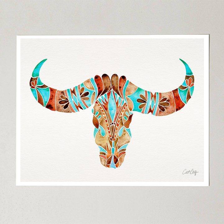 BlueBrown-WaterBuffaloSkull-web.jpg