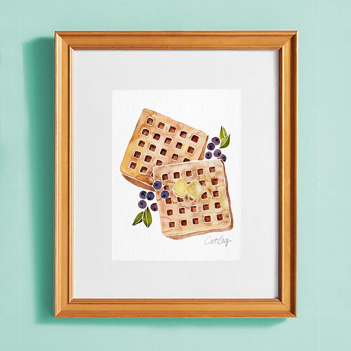 Waffles-goldframe.jpg