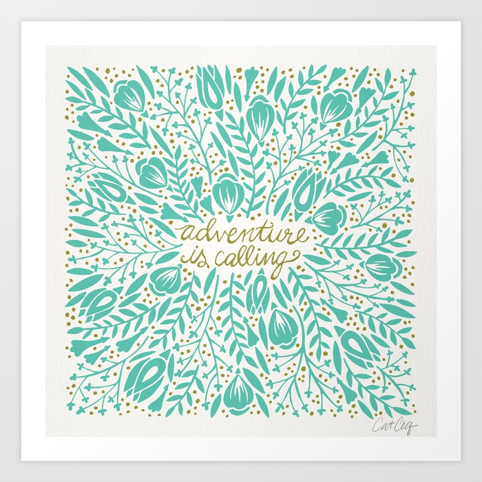 adventure-is-calling-turquoise-gold-palette-prints.jpg