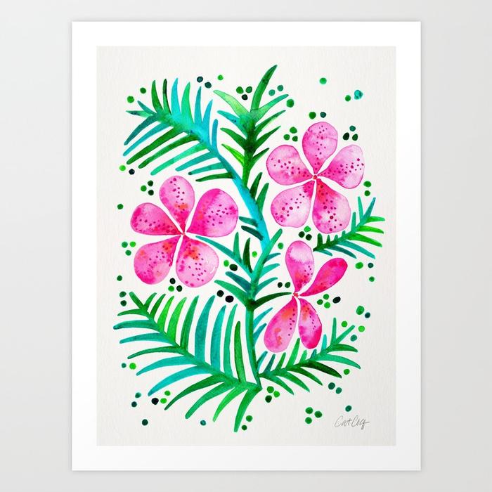orchid-bunch-fuchsia-green-palette-prints.jpg