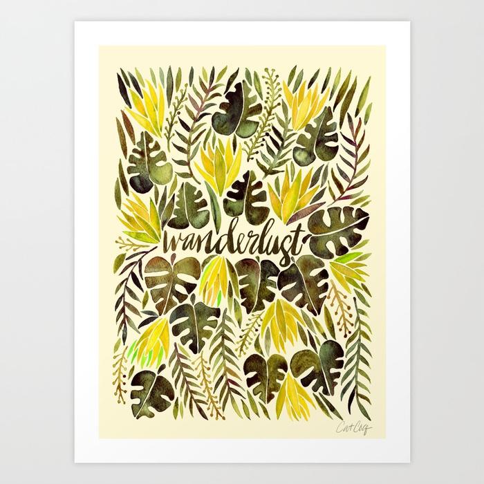 tropical-wanderlust-yellow-olive-palette-prints.jpg