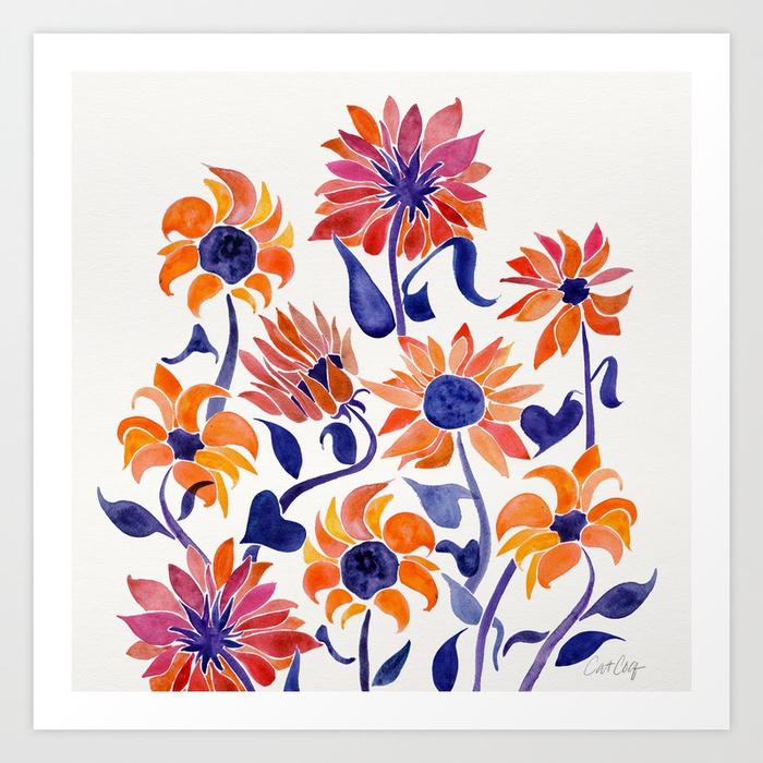 sunflowers-sunset-palette-prints.jpg