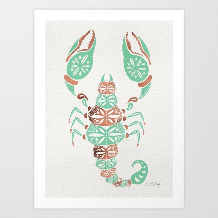 scorpion--mint--rose-gold-prints.jpg