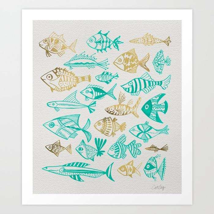 inked-fish--turquoise--gold-prints.jpg