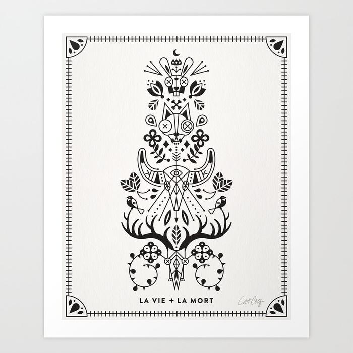 la-vie--la-mort-black-ink-izd-prints.jpg