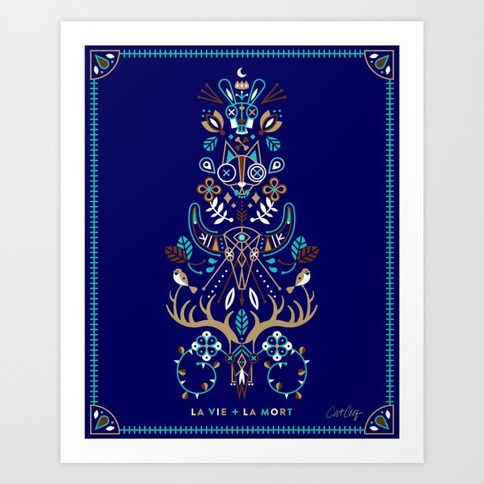la-vie--la-mort--navy-prints.jpg