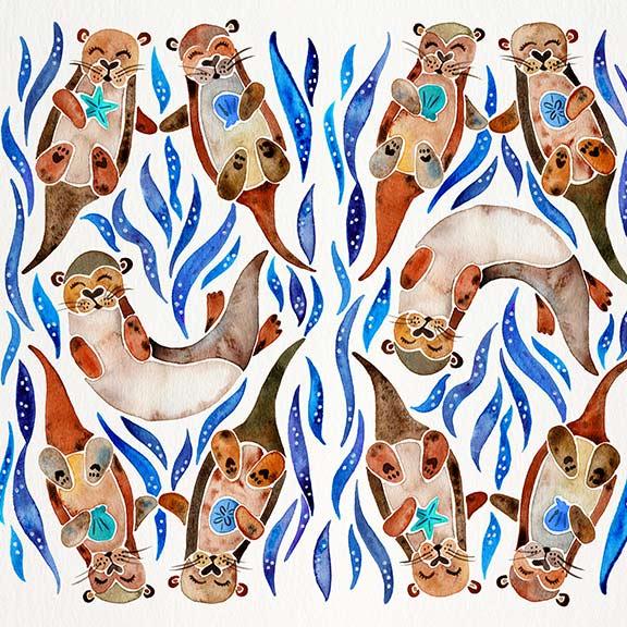 Blue-Otters-pattern.jpg