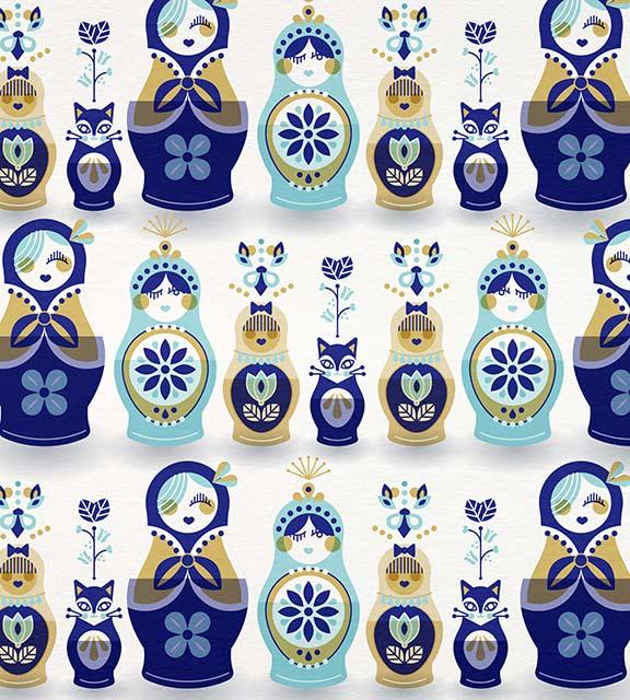 BlueGold-RussianDolls-pattern.jpg
