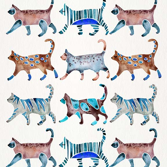 BlueBrown-CatCollection-pattern.jpg
