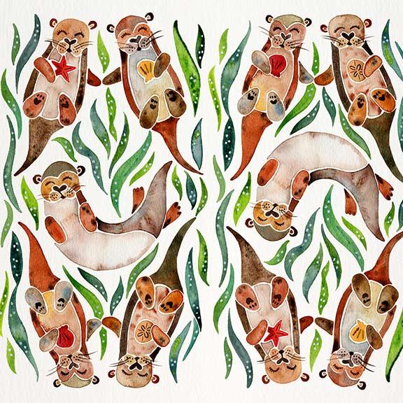 Green-Otters-pattern.jpg