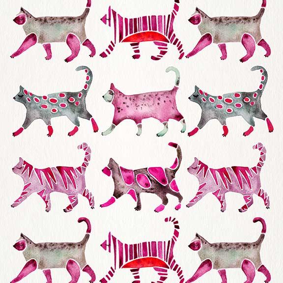 Magenta-CatCollection-pattern.jpg