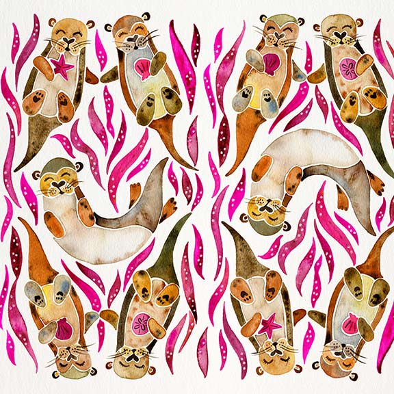 Pink-Otters-pattern.jpg