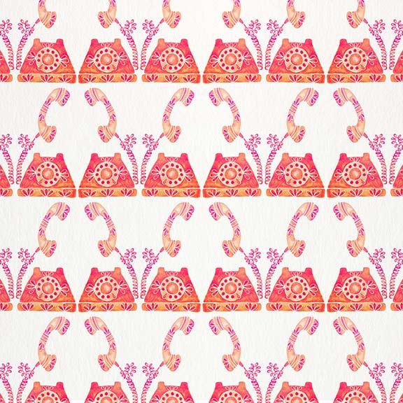 Peach-VintagePhone-pattern.jpg