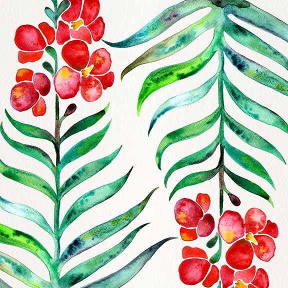 RedGreen-OrchidBloom-pattern.jpg