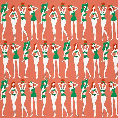 RedheadsOnCoral-BeachBombshells-pattern.jpg