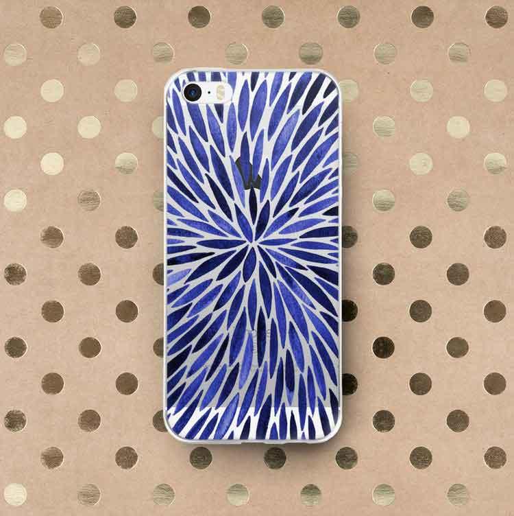 Navy Burst iPhone Case   –  $30