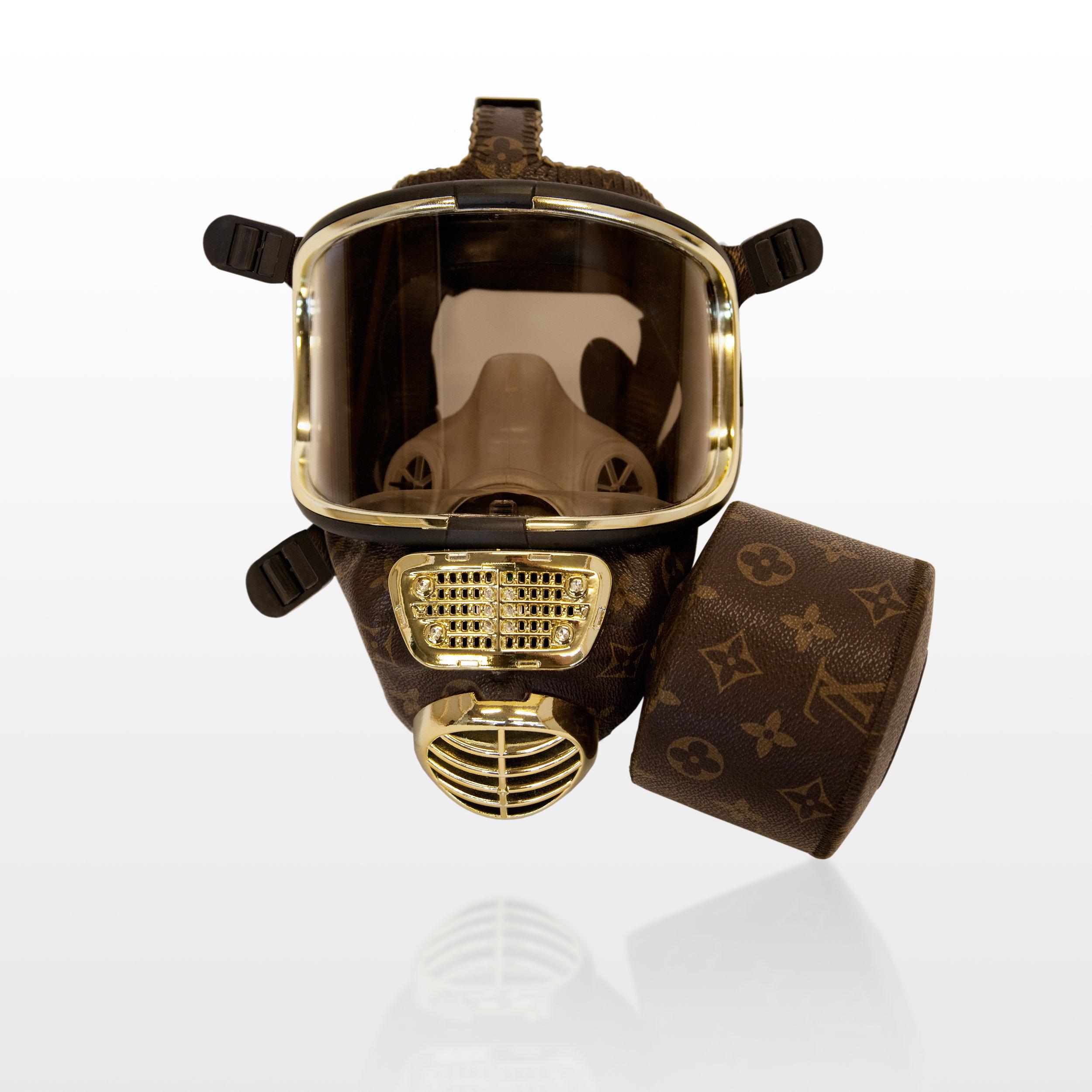Designer gas mask by Diddo