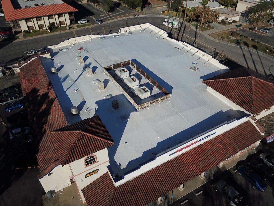 Pep Boys new roof WeatherBond 60mil TPO