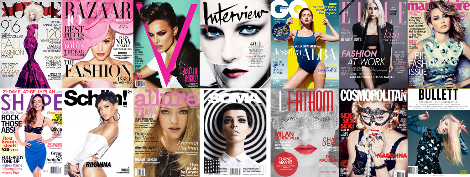List of Fashion Magazines