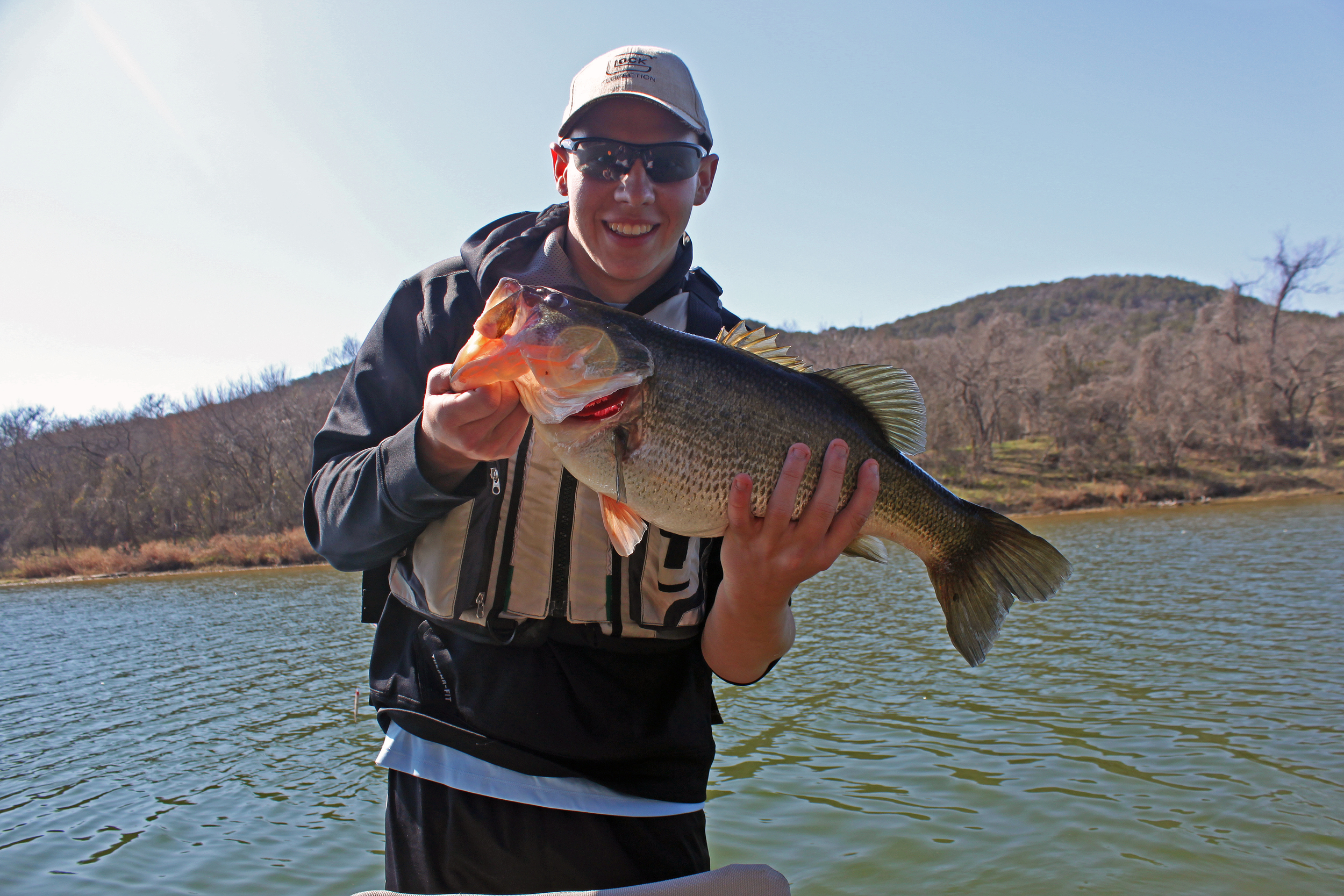 12 lb. bass Brazos River