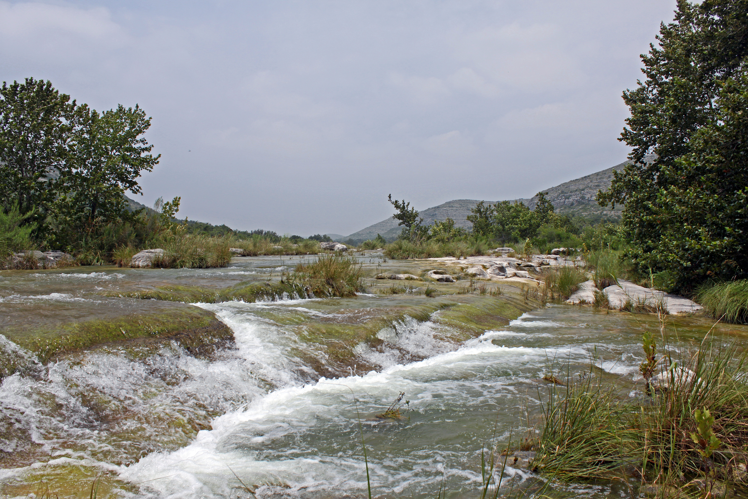 Some rapids on the Devils River