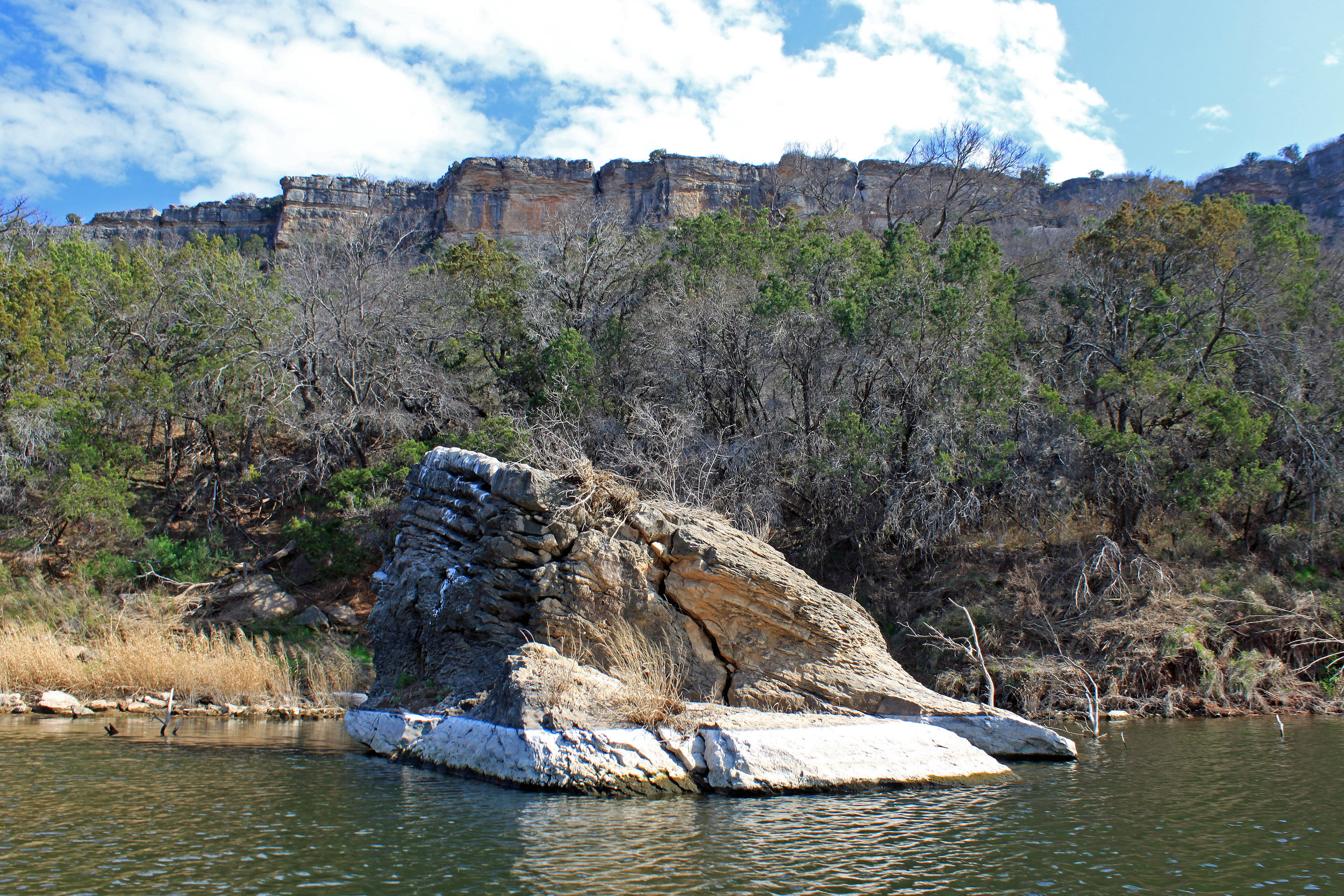 Brazos River below Possum Kingdom Lake