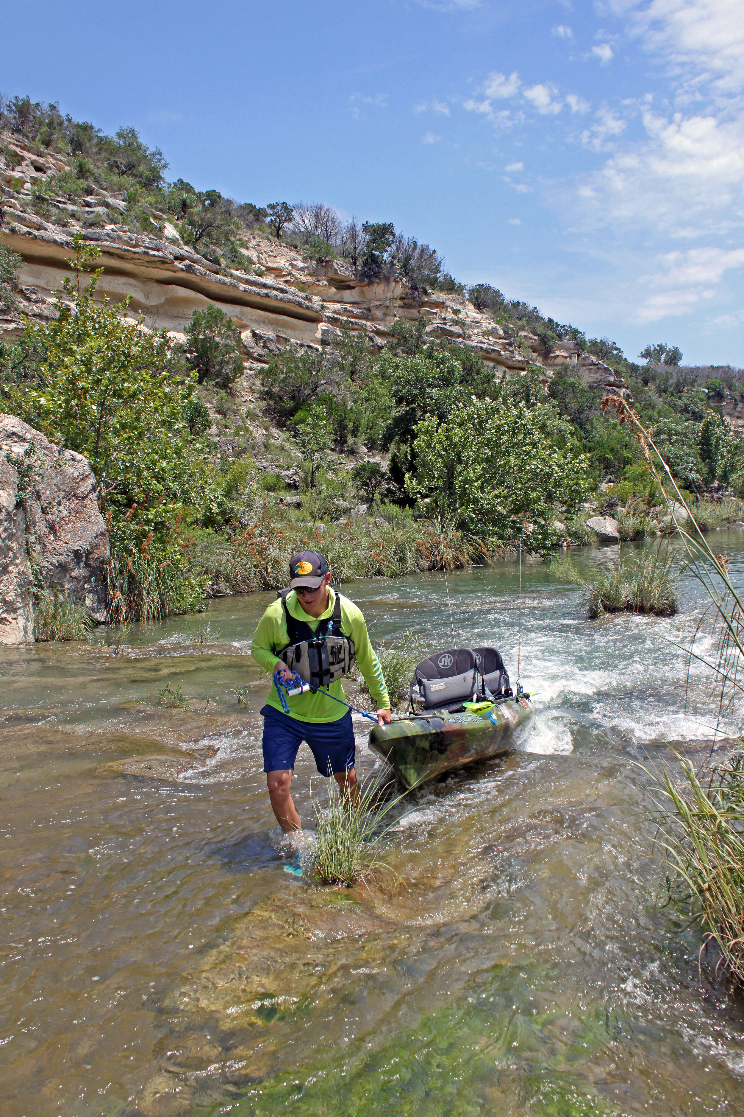 Clint Taylor Texas Kayak Fisher