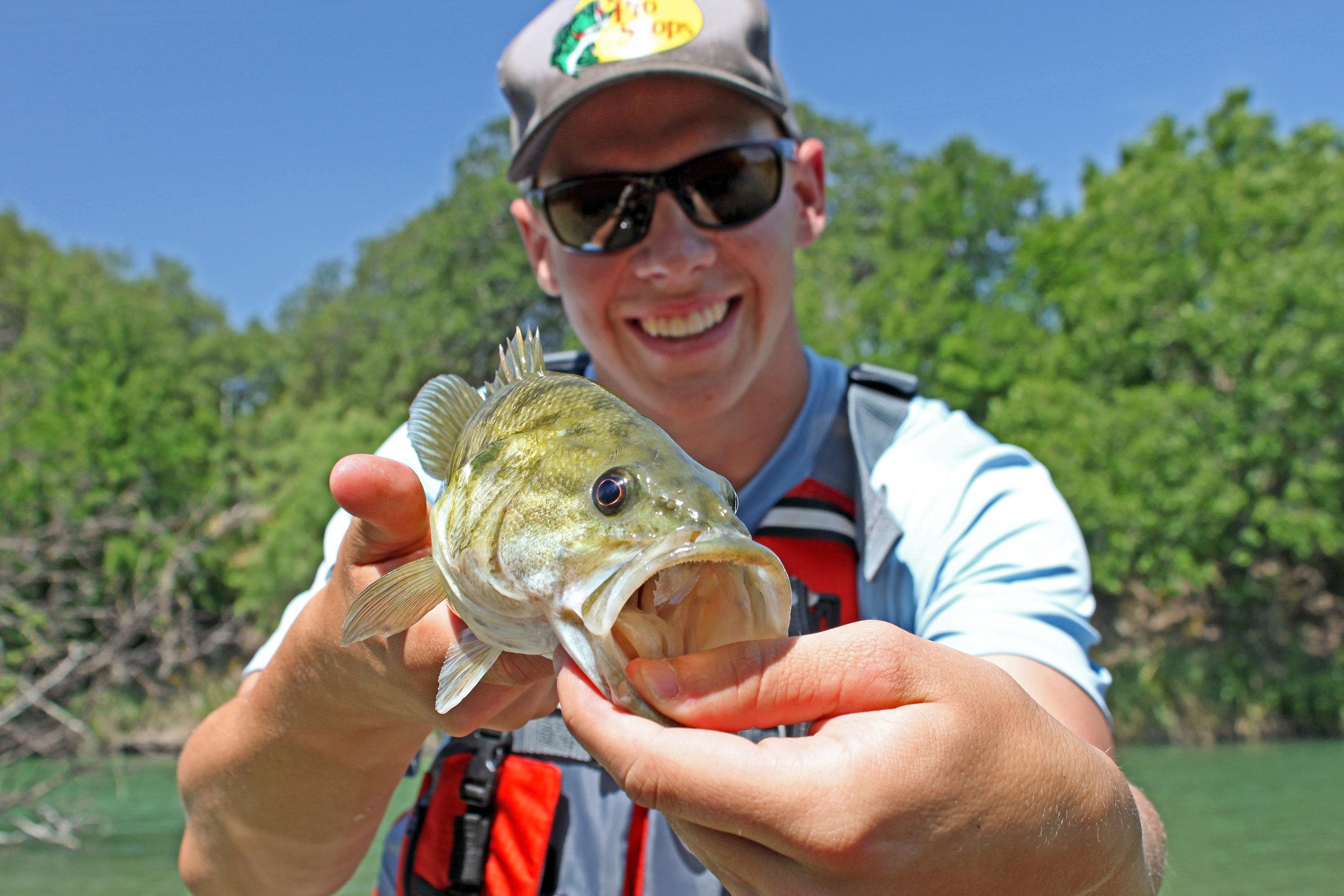 Clint Taylor South Llano River Guadalupe Bass