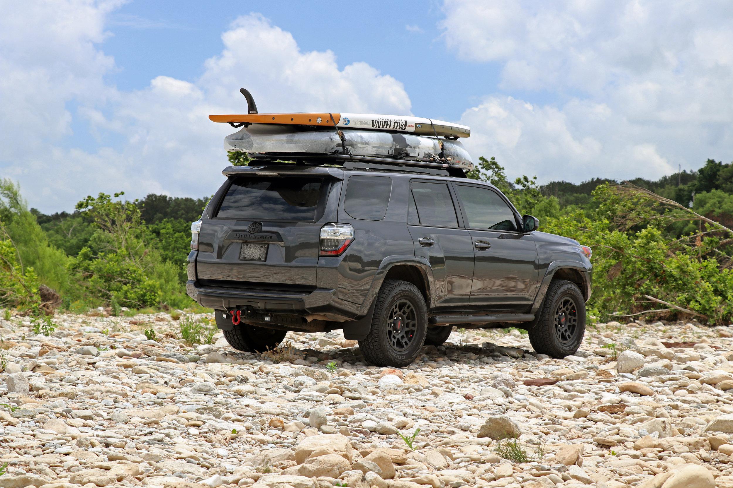 Toyota 4Runner Pau Hana Endurance Jackson Kayak Liska