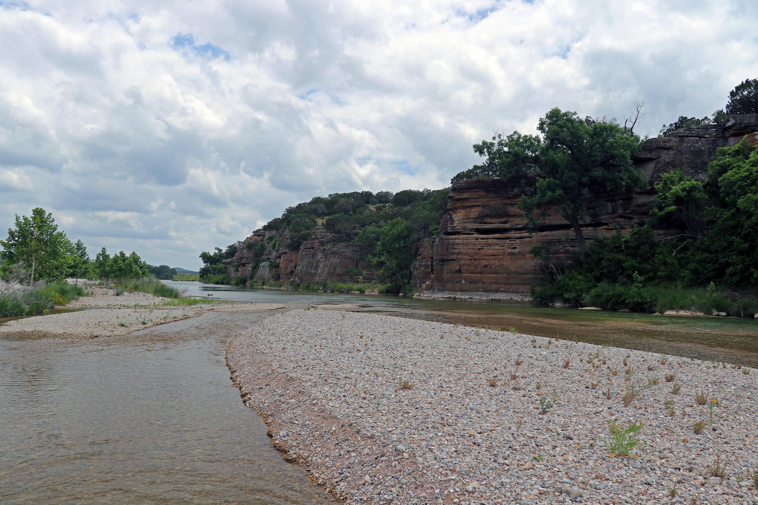 Llano River Mason Texas
