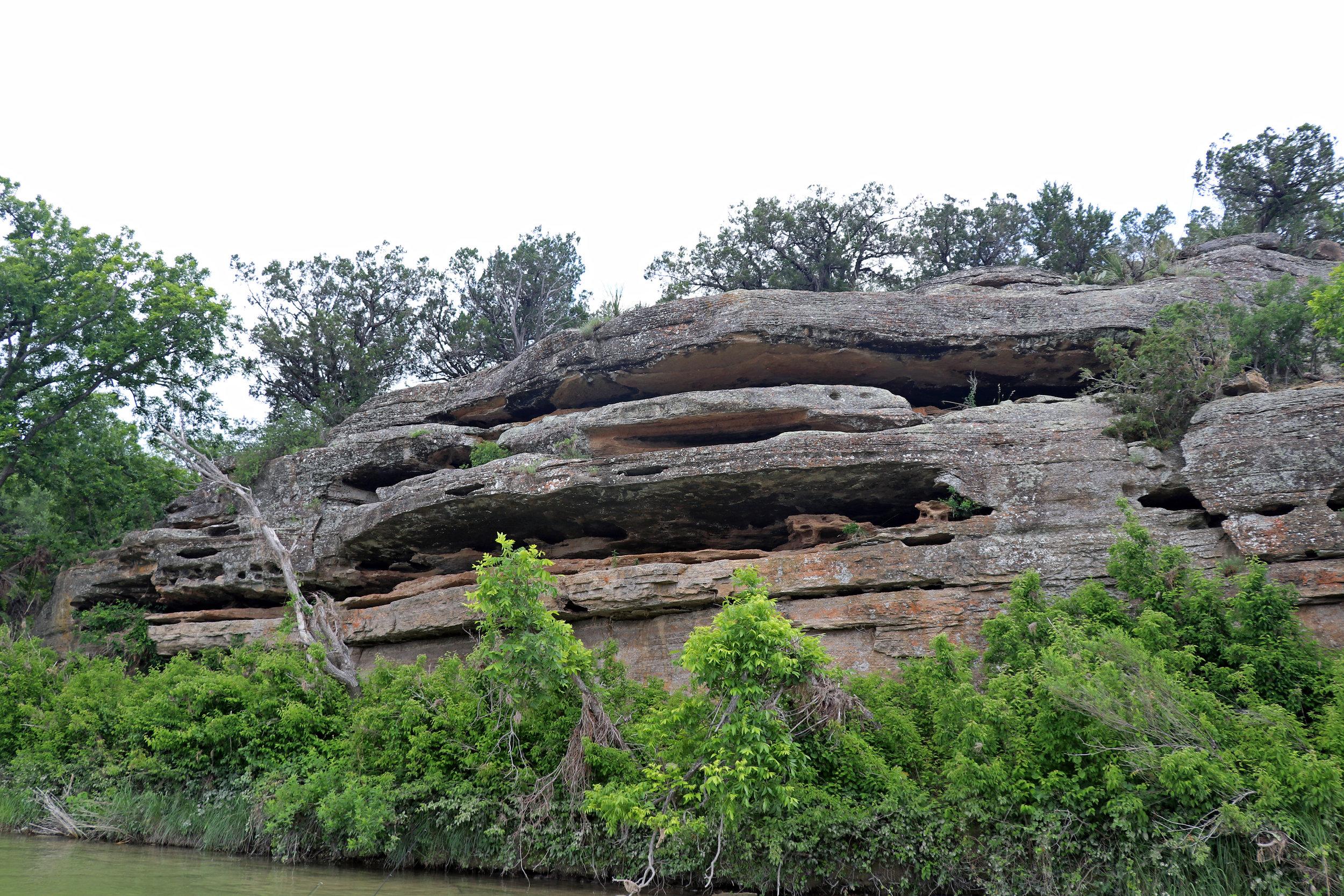 Llano River Scenery Mason Texas