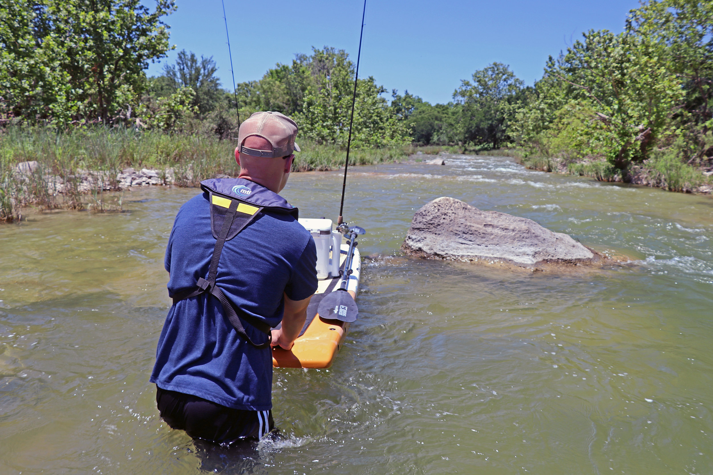 Clint Taylor Pau Hana Endurance San Saba River