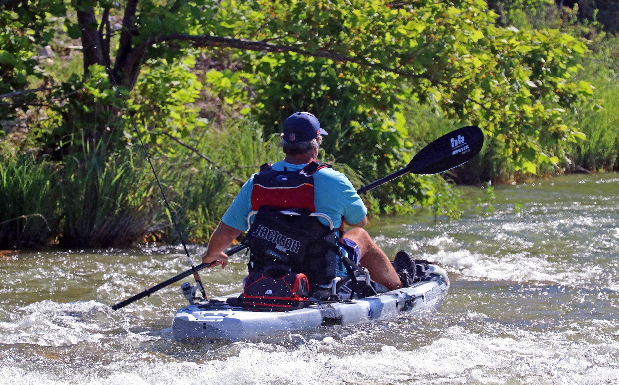 Jackson Kayak Liska San Saba River
