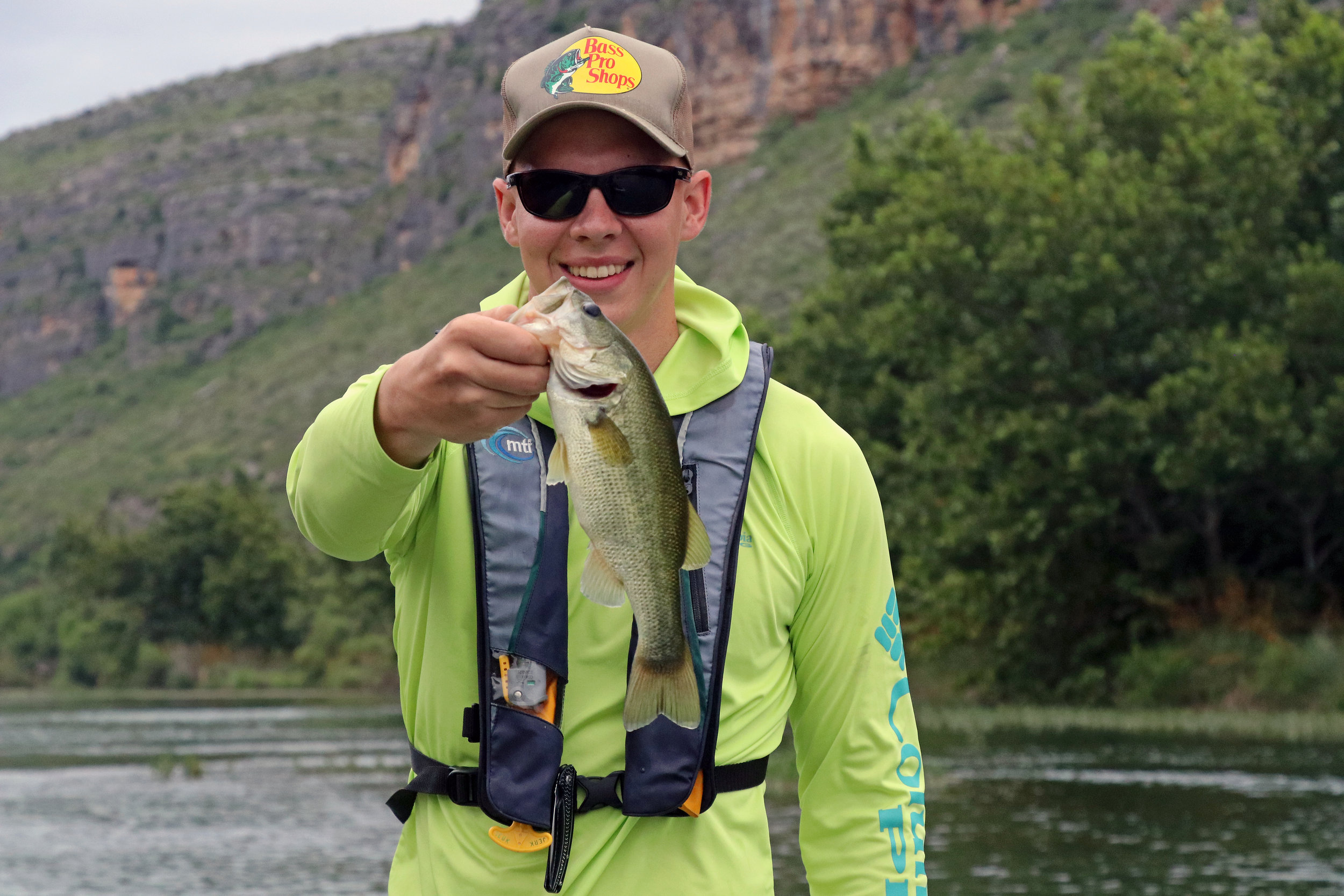Clint Taylor Largemouth Bass Devils River