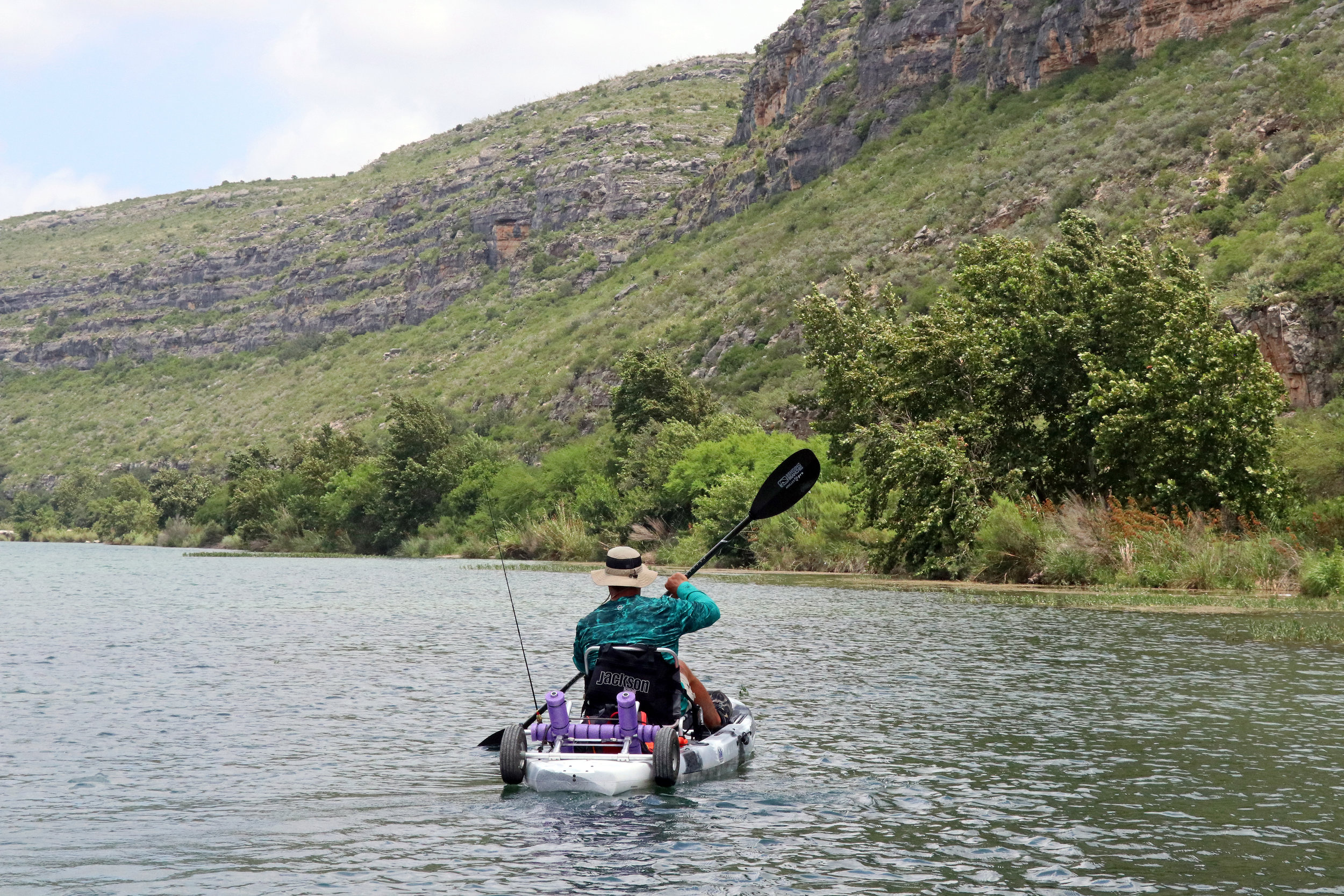 Jackson Kayak Liska Bending Branches Angler Pro Carbon