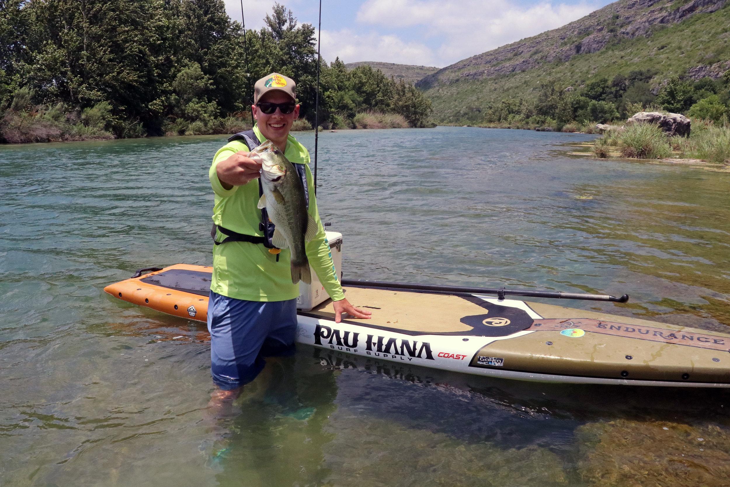 Clint Taylor Pau Hana Endurance Largemouth Bass Devils River