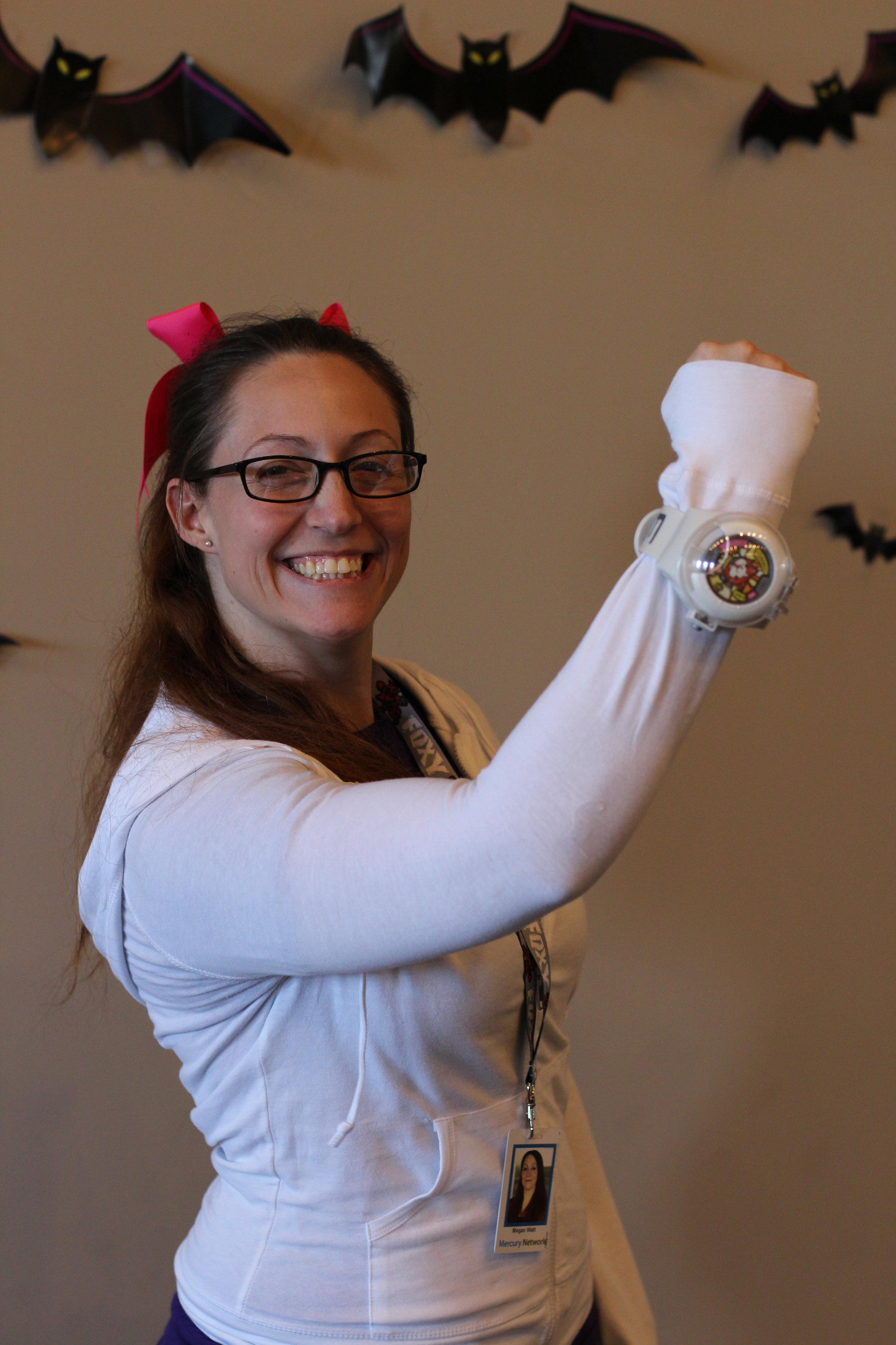 Megan Watt - Katie from Yo Kai Watch