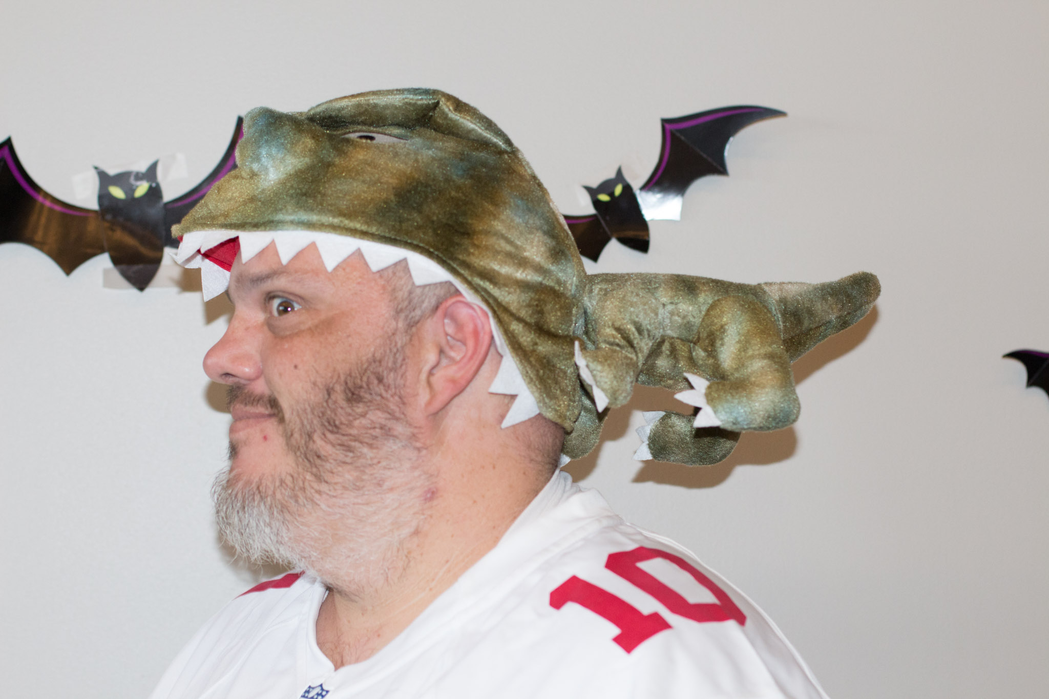 CJ Werlinger - Guy Being Eaten by a Baby Dinosaur