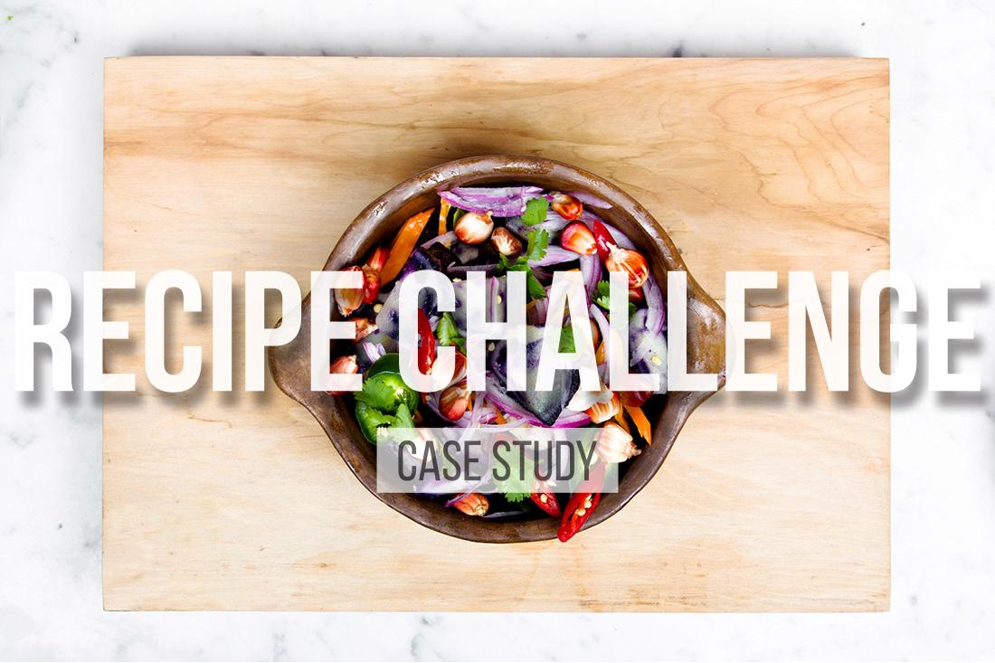 Formaggio Recipe Challenge