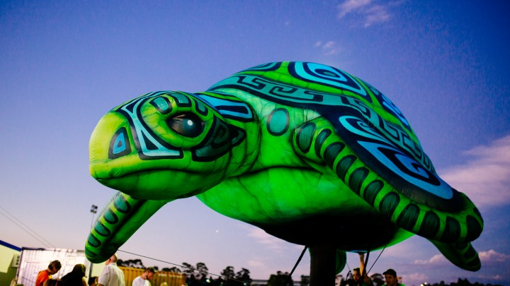 Inflatable Turtle-Totem