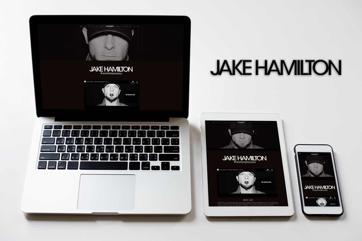 Jake Hamilton: Squarespace Build